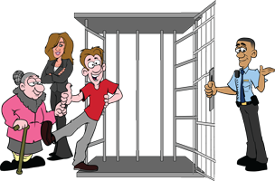 Fast and Reliable Bail Bonds company In and Out Bail Bonds will get you out of jail